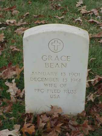 BEAN RUSS, GRACE - Pulaski County, Arkansas | GRACE BEAN RUSS - Arkansas Gravestone Photos