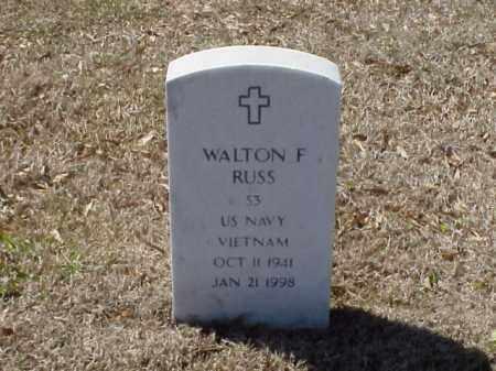 RUSS (VETERAN VIET), WALTON F - Pulaski County, Arkansas | WALTON F RUSS (VETERAN VIET) - Arkansas Gravestone Photos