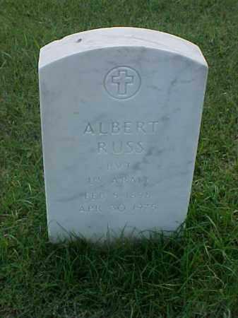 RUSS (VETERAN WWI), ALBERT - Pulaski County, Arkansas | ALBERT RUSS (VETERAN WWI) - Arkansas Gravestone Photos
