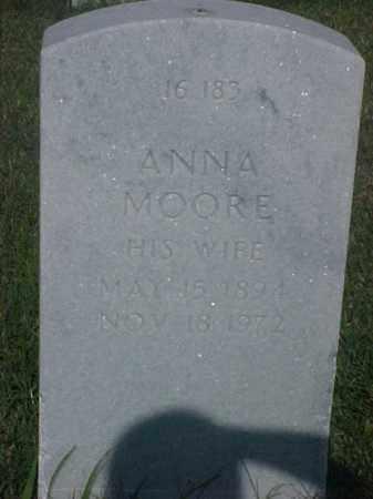 MOORE RUSSELL, ANNA - Pulaski County, Arkansas | ANNA MOORE RUSSELL - Arkansas Gravestone Photos