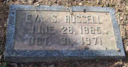 RUSSELL, EVA FRANCES - Pulaski County, Arkansas | EVA FRANCES RUSSELL - Arkansas Gravestone Photos