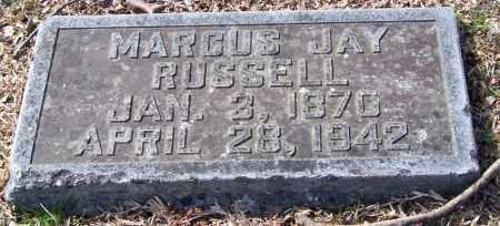 RUSSELL, MARCUS JAY - Pulaski County, Arkansas | MARCUS JAY RUSSELL - Arkansas Gravestone Photos