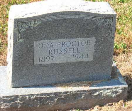 RUSSELL, ODA - Pulaski County, Arkansas | ODA RUSSELL - Arkansas Gravestone Photos