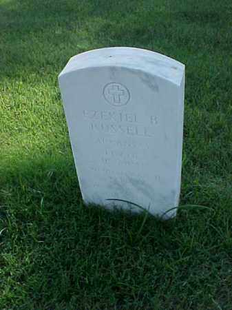 RUSSELL (VETERAN 2 WARS), EZEKIEL B - Pulaski County, Arkansas | EZEKIEL B RUSSELL (VETERAN 2 WARS) - Arkansas Gravestone Photos