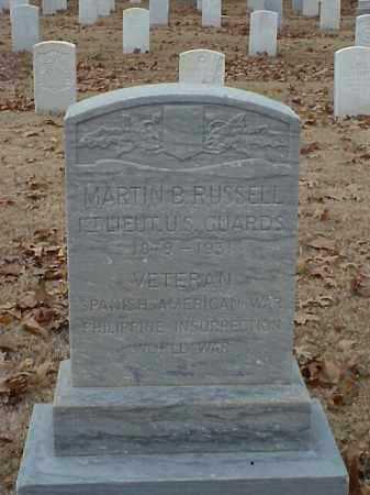 RUSSELL (VETERAN 3 WARS), MARTIN B - Pulaski County, Arkansas | MARTIN B RUSSELL (VETERAN 3 WARS) - Arkansas Gravestone Photos
