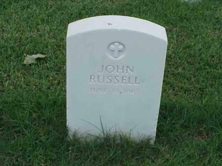 RUSSELL, JOHN - Pulaski County, Arkansas | JOHN RUSSELL - Arkansas Gravestone Photos