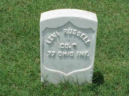 RUSSELL (VETERAN UNION), LEVI - Pulaski County, Arkansas | LEVI RUSSELL (VETERAN UNION) - Arkansas Gravestone Photos