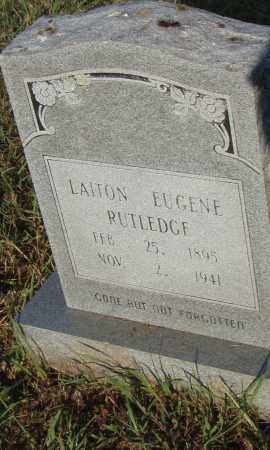 RUTLEDGE, LAITON EUGENE - Pulaski County, Arkansas   LAITON EUGENE RUTLEDGE - Arkansas Gravestone Photos