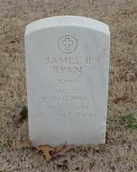 RYAN  (VETERAN WWI), JAMES B - Pulaski County, Arkansas | JAMES B RYAN  (VETERAN WWI) - Arkansas Gravestone Photos