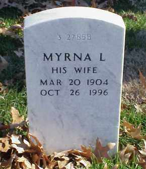 RYAN, MYRNA L - Pulaski County, Arkansas | MYRNA L RYAN - Arkansas Gravestone Photos