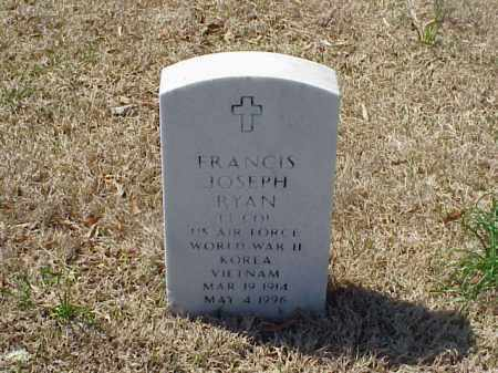 RYAN (VETERAN 3 WARS), FRANCIS JOSEPH - Pulaski County, Arkansas | FRANCIS JOSEPH RYAN (VETERAN 3 WARS) - Arkansas Gravestone Photos