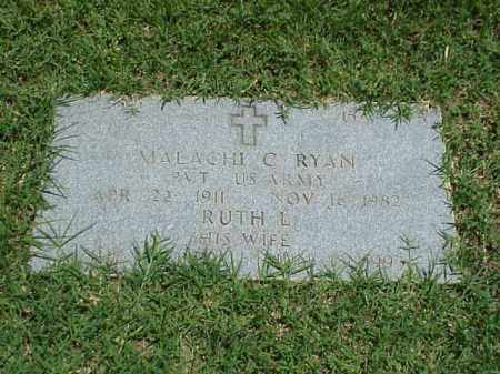 RYAN (VETERAN WWII), MALACHI - Pulaski County, Arkansas | MALACHI RYAN (VETERAN WWII) - Arkansas Gravestone Photos