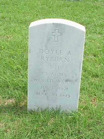 RYBURN (VETERAN WWII), DOYLE A - Pulaski County, Arkansas | DOYLE A RYBURN (VETERAN WWII) - Arkansas Gravestone Photos