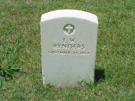 RYNDERS, I W - Pulaski County, Arkansas | I W RYNDERS - Arkansas Gravestone Photos
