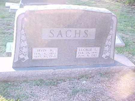 SACHS, LUCILLE L - Pulaski County, Arkansas | LUCILLE L SACHS - Arkansas Gravestone Photos