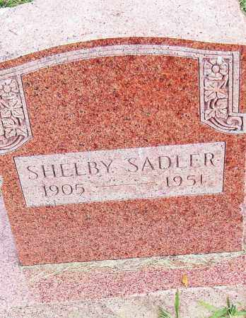 SADLER, SHELBY - Pulaski County, Arkansas | SHELBY SADLER - Arkansas Gravestone Photos