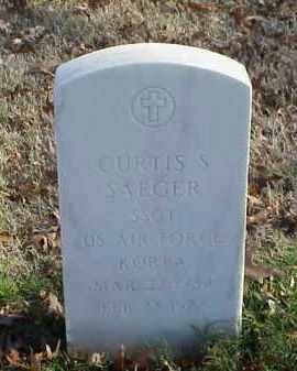 SAEGER (VETERAN KOR), CURTIS S - Pulaski County, Arkansas | CURTIS S SAEGER (VETERAN KOR) - Arkansas Gravestone Photos