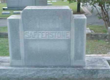 SAFFERSTONE FAMILY STONE,  - Pulaski County, Arkansas |  SAFFERSTONE FAMILY STONE - Arkansas Gravestone Photos