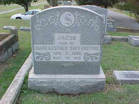 SAFFERSTONE, JACOB - Pulaski County, Arkansas | JACOB SAFFERSTONE - Arkansas Gravestone Photos