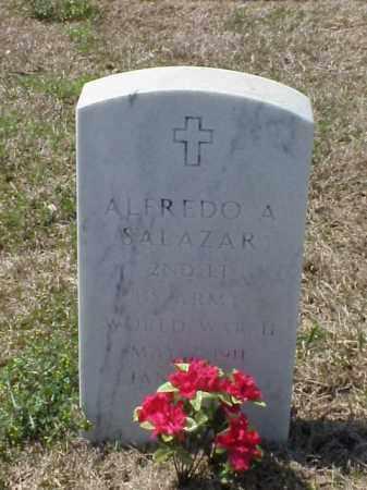 SALAZAR (VETERAN WWII), ALFREDO A - Pulaski County, Arkansas | ALFREDO A SALAZAR (VETERAN WWII) - Arkansas Gravestone Photos
