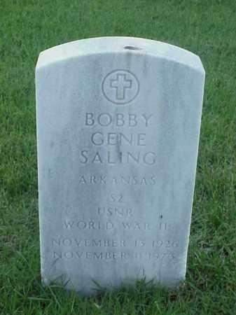 SALING (VETERAN WWII), BOBBY GENE - Pulaski County, Arkansas | BOBBY GENE SALING (VETERAN WWII) - Arkansas Gravestone Photos