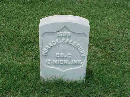 SALSBURY (VETERAN UNION), HORACE - Pulaski County, Arkansas | HORACE SALSBURY (VETERAN UNION) - Arkansas Gravestone Photos