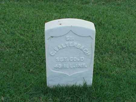 SALTERBACH (VETERAN UNION), C - Pulaski County, Arkansas | C SALTERBACH (VETERAN UNION) - Arkansas Gravestone Photos