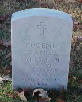 SALTSMAN (VETERAN 2 WARS), EUGENE FRANCIS - Pulaski County, Arkansas | EUGENE FRANCIS SALTSMAN (VETERAN 2 WARS) - Arkansas Gravestone Photos