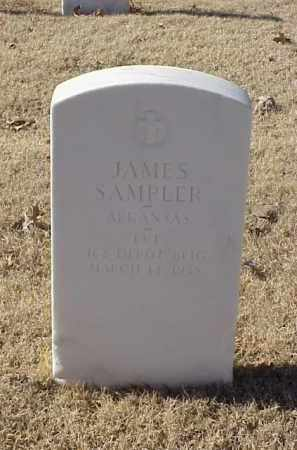 SAMPLER (VETERAN WWI), JAMES - Pulaski County, Arkansas | JAMES SAMPLER (VETERAN WWI) - Arkansas Gravestone Photos