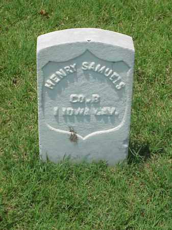 SAMUELS (VETERAN UNION), HENRY - Pulaski County, Arkansas | HENRY SAMUELS (VETERAN UNION) - Arkansas Gravestone Photos