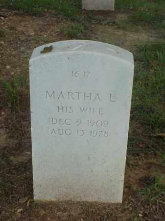 SANDE, MARTHA L - Pulaski County, Arkansas | MARTHA L SANDE - Arkansas Gravestone Photos