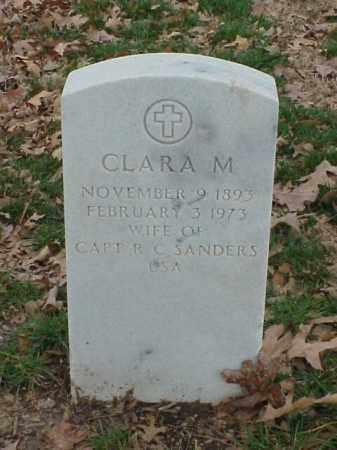 SANDERS, CLARA M - Pulaski County, Arkansas | CLARA M SANDERS - Arkansas Gravestone Photos