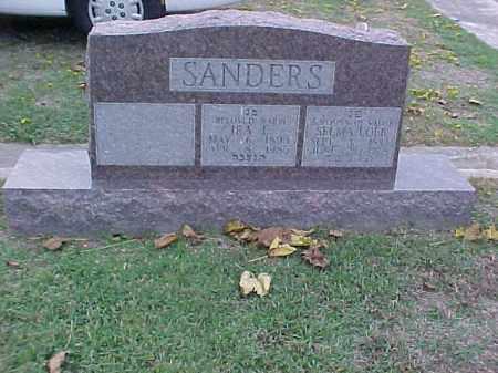 LOEB SANDERS, SELMA - Pulaski County, Arkansas | SELMA LOEB SANDERS - Arkansas Gravestone Photos