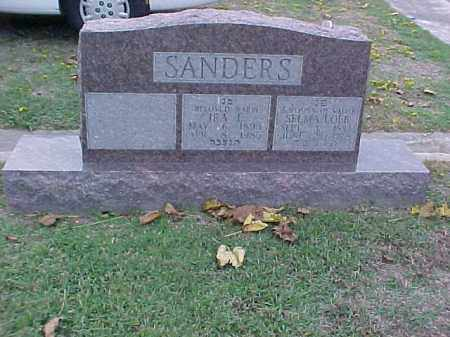 SANDERS, SELMA - Pulaski County, Arkansas | SELMA SANDERS - Arkansas Gravestone Photos