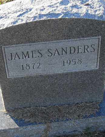 SANDERS, JAMES - Pulaski County, Arkansas | JAMES SANDERS - Arkansas Gravestone Photos