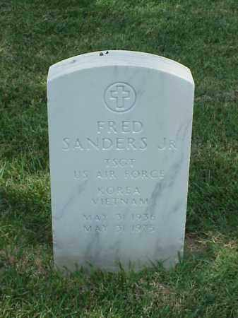 SANDERS, JR (VETERAN 2 WARS), FRED - Pulaski County, Arkansas | FRED SANDERS, JR (VETERAN 2 WARS) - Arkansas Gravestone Photos