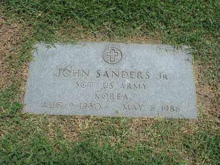 SANDERS, JR (VETERAN KOR), JOHN - Pulaski County, Arkansas | JOHN SANDERS, JR (VETERAN KOR) - Arkansas Gravestone Photos
