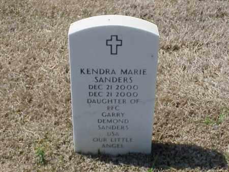 SANDERS, KENDRA MARIE - Pulaski County, Arkansas | KENDRA MARIE SANDERS - Arkansas Gravestone Photos