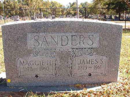 SANDERS, MAGGIE H - Pulaski County, Arkansas | MAGGIE H SANDERS - Arkansas Gravestone Photos
