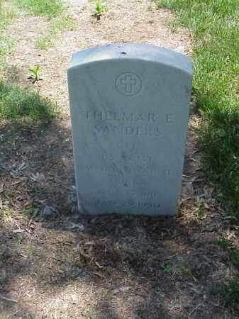 SANDERS (VETERAN 2 WARS), THELMAR - Pulaski County, Arkansas | THELMAR SANDERS (VETERAN 2 WARS) - Arkansas Gravestone Photos
