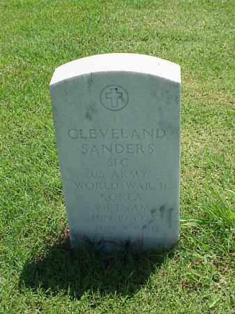 SANDERS (VETERAN 3 WARS), CLEVELAND - Pulaski County, Arkansas | CLEVELAND SANDERS (VETERAN 3 WARS) - Arkansas Gravestone Photos