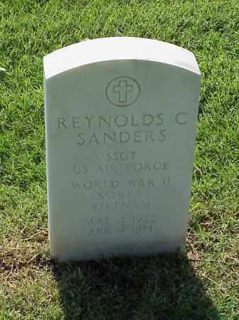 SANDERS (VETERAN 3 WARS), REYNOLDS C - Pulaski County, Arkansas | REYNOLDS C SANDERS (VETERAN 3 WARS) - Arkansas Gravestone Photos