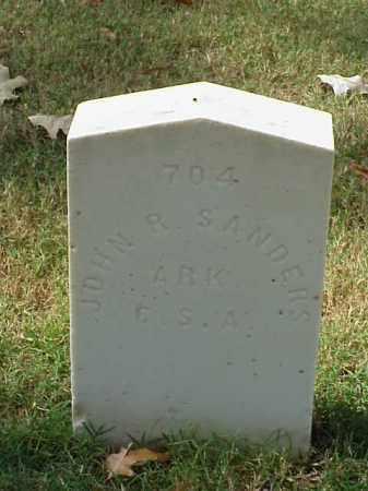 SANDERS (VETERAN CSA), JOHN R - Pulaski County, Arkansas | JOHN R SANDERS (VETERAN CSA) - Arkansas Gravestone Photos
