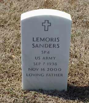 SANDERS (VETERAN), LEMORIS - Pulaski County, Arkansas | LEMORIS SANDERS (VETERAN) - Arkansas Gravestone Photos