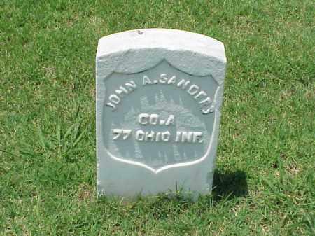 SANDERS (VETERAN UNION), JOHN A - Pulaski County, Arkansas | JOHN A SANDERS (VETERAN UNION) - Arkansas Gravestone Photos