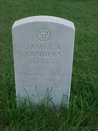 SANDERS (VETERAN VIET), JAMES A - Pulaski County, Arkansas | JAMES A SANDERS (VETERAN VIET) - Arkansas Gravestone Photos