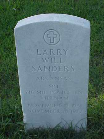 SANDERS (VETERAN VIET), LARRY WILL - Pulaski County, Arkansas | LARRY WILL SANDERS (VETERAN VIET) - Arkansas Gravestone Photos