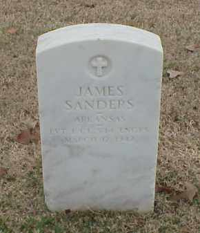 SANDERS (VETERAN WWI), JAMES - Pulaski County, Arkansas | JAMES SANDERS (VETERAN WWI) - Arkansas Gravestone Photos