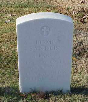 SANDERS (VETERAN WWI), POMP - Pulaski County, Arkansas | POMP SANDERS (VETERAN WWI) - Arkansas Gravestone Photos