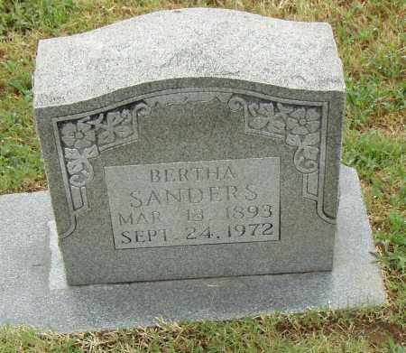 SANDERS, BERTHA - Pulaski County, Arkansas | BERTHA SANDERS - Arkansas Gravestone Photos